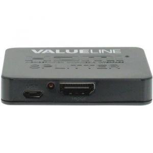 Valueline VLVSP3402 - Splitter HDMI Entrée HDMI - Sortie 2x HDMI Noir