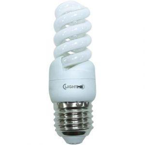 LightMe Ampoule à économie d'énergie E27 9W forme spiralée
