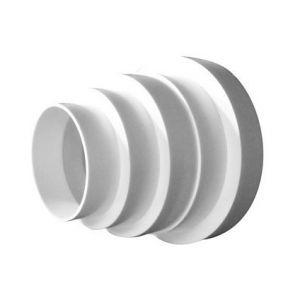 Winflex Ventilation Réducteur PVC 80-100-125-150mm, conduit de ventilation