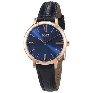 Hugo Boss 1502392 - Montre pour femme avec bracelet en cuir