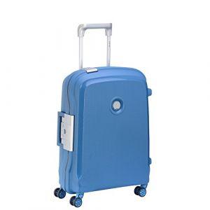 Delsey PARIS BELFORT PLUS Valise, 55 cm, 44 litres, Bleu Cyan