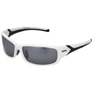 Uvex Sportstyle 211 Lunettes de soleil Blanc/Noir