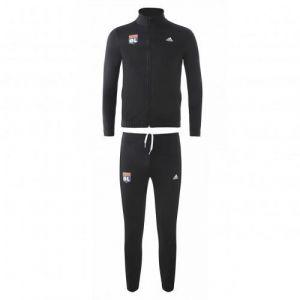 Adidas Ensemble de survêtement noir junior - Taille - 15-16A - Couleur Noir