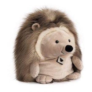 Histoire d'ours Peluche Hérisson : Panache Taupe (25 cm)