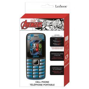 Lexibook Téléphone portable Avengers (GSM20AV)