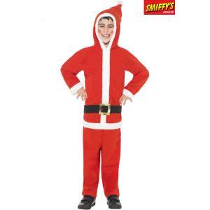 Déguisement Père Noël garçon (4 à 12 ans)