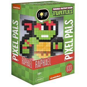 PDP Figurine Pixel Pals Light Up Teenage Mutant Ninja Turtles Raphael