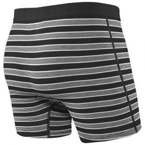 Saxx Underwear Vêtements intérieurs Ultra Fly - Black Crew Stripe - Taille L