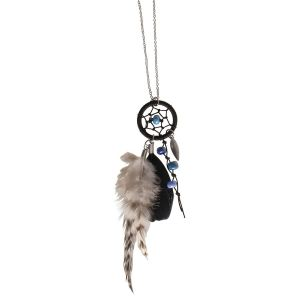 Rayher Kit bijou Collier attrape-rêves - Luna Bleu