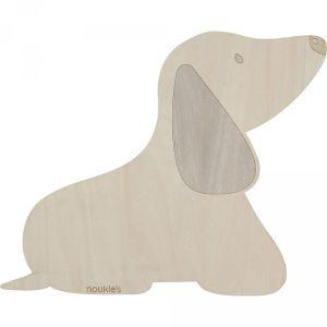 Noukie's Lampe applique murale bois - Fancy dogs BEIGE