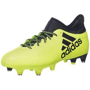 Adidas X 17.3 SG, Chaussures de Football Entrainement Homme, Multicolore (Solar Yellow/Legend Ink/Legend Ink), 42 EU