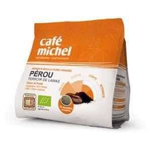 Terra etica Café bio en dosettes souples du Pérou 125 g