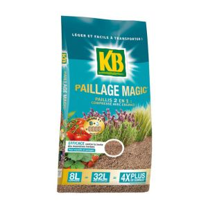 KB Paillage magic 8L - Traitement des plantes