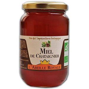 L'Abeille Royale Miel de Châtaignier BIO verre 500 g