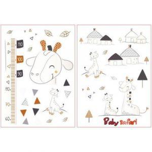 Sauthon Kenza Stickers muraux - Blanc/Gris