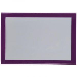 Atmosphera Lot de 3 cadres photos magnet 10X15 D, 11 x L, 16 cm Violet