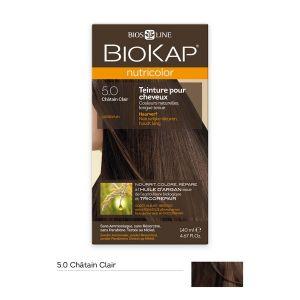 Image de Biokap Nutricolor châtain clair - Teinture pour cheveux longue tenue