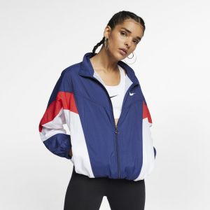 buy best ever popular official shop Nike Veste Sportswear Windrunner pour Femme - Bleu - Couleur ...
