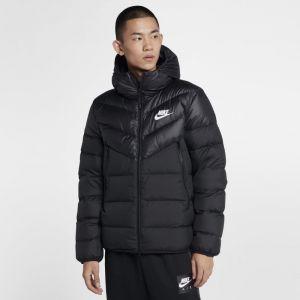 Nike Veste courteà capuche Sportswear Windrunner Down Fill - Noir - Taille S - Unisex