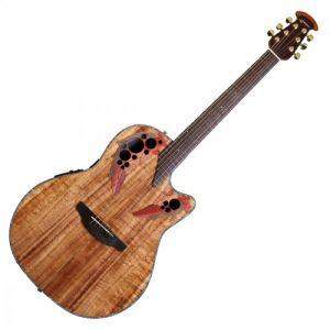 Ovation Guitars CE44P-FKOA Celebrity Elite Plus - Natural gloss