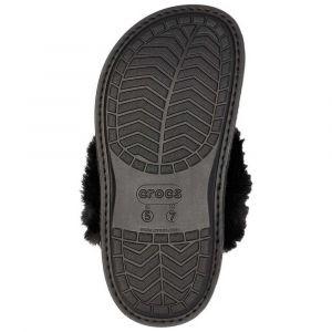 Crocs Women´s Classic Luxe Slipper - Chaussons taille M5 / W7, noir
