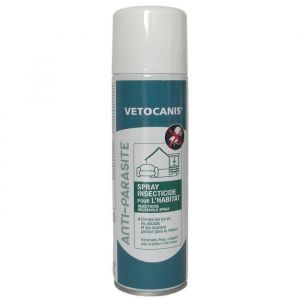 Vetocanis Spray insecticide pour l'habitat