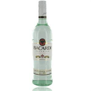 Bacardi Superior - Rhum blanc de Cuba (70cl)