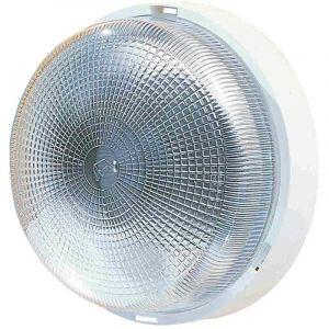 L'ébénoïd Hublot plastique verre rond 100w B22