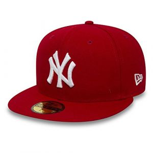 New Era Casquette 59 Fifty MLB NY Rouge/Blanc 6 7/8