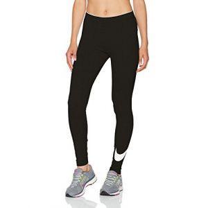 Nike Tight Swoosh Sportswear pour Femme - Noir - Taille S - FeHomme