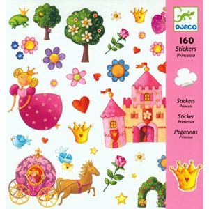 Djeco Stickers Princesse Marguerite