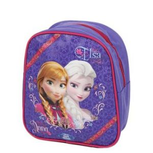Sac à dos maternelle La Reine des Neiges Anna & Elsa Fleurs (25 cm)