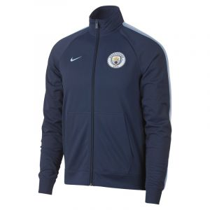 Nike Veste Manchester City FC pour Homme - Bleu - Couleur Bleu - Taille XL