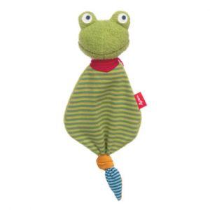 Sigikid Taches de tissu Mini-Schnuffel Grenouille vert