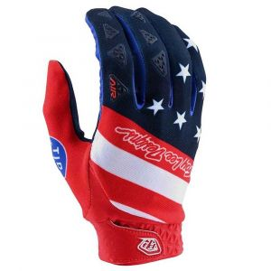 Troy Lee Designs Gants Troy-lee-designs Air - Stars & Stripes Red / Blue - Taille M