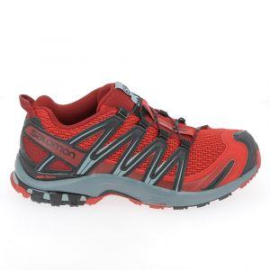 Salomon XA Pro 3D J, Chaussures de Trail Mixte enfant Rouge (Red Dahlia)39 EU