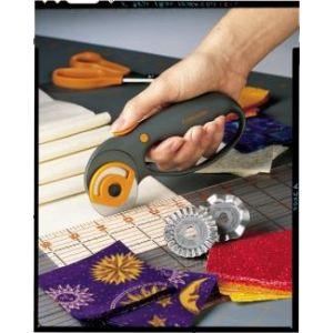Fiskars Cutter rotatif pour tous travaux de faconnage (lame 45 mm)