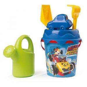 Smoby Seau garni avec arrosoir Mickey et les superpilots
