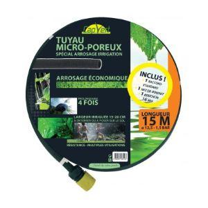 Cap Vert Tuyau microporeux équipé 15 m