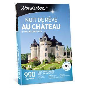 Wonderbox Nuit de rêve au château et belles demeures - Coffret cadeau