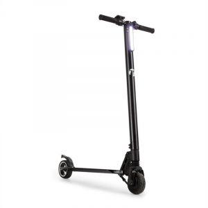Takira Sc8ter • Scooter • Scooter électrique • E-Scooter • Fonction Easy-Fold • Phare à LED • 250 W • jusqu'à 22 km/h • 5 Niveaux de Vitesse • Poids Max. 120 kg • Aluminium • Autonomie: 28 km • Noir