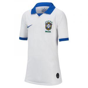 Nike Maillot Brasil Stadium 2019 pour Enfant plus âgé - Blanc - Couleur Blanc - Taille XS