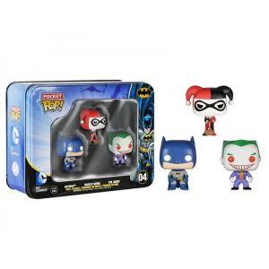 Funko Pack 3 figurines Pop! DC Heroes : Batman Pocket