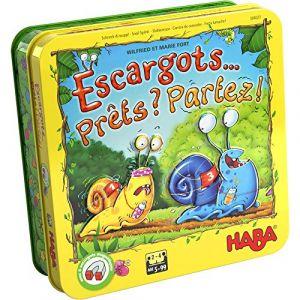Haba Jeu de course Escargots... Prets ? Partez !