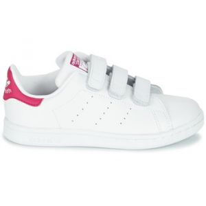 Adidas Chaussures enfant STAN SMITH CF C - Couleur 21,28,29,30,31,32,33,34,35,33 1/2,31 1/2,30 1/2,28 1/2 - Taille Blanc