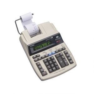 Canon Calculatrice imprimante bicolore MP-120MG écran LCD