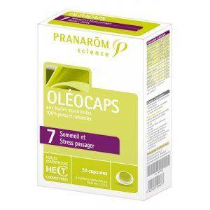 Pranarôm Oléocaps n° 7 - Sommeil et stress passager (30 comprimés)