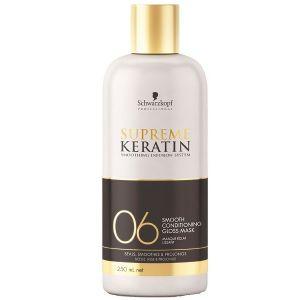 Schwarzkopf supreme keratin masque eclat lissant 06 250 ml