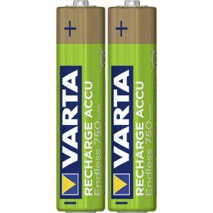 Varta 1x2 RECHARGE ACCU Endless 750 mAH AAA Micro NiMH