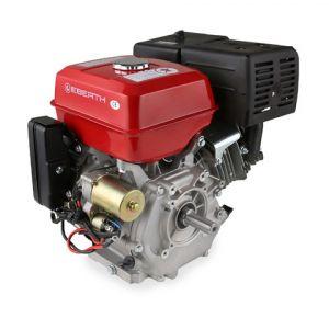 Eberth Moteur à essence 13 cv 9,56 kw thermique 4 temps 25mm démarreur électrique